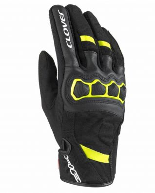 GUANTES CLOVER AIRTOUCH-2 NEGRO/AMARILLO
