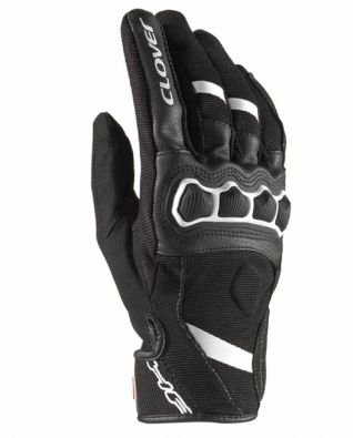 GUANTES CLOVER AIRTOUCH-2 NEGRO/BLANCO