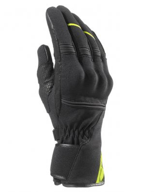 GUANTES CLOVER MS-05 WP NEGRO/AMARILLO