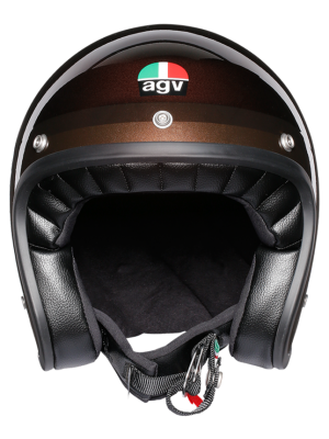 CASCO AGV X70 TROFEO CHOCOLATE