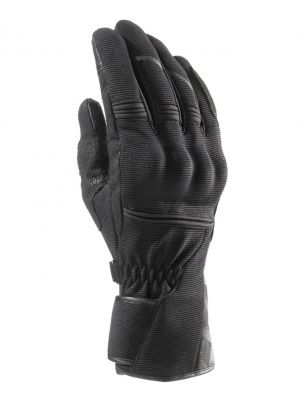 GUANTES CLOVER MS-05 WP NEGRO