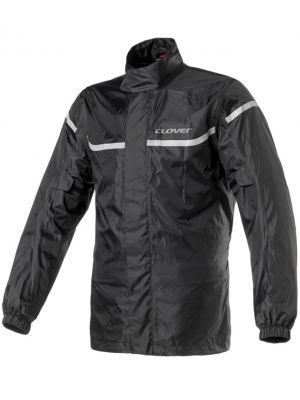 CHAMARRA CLOVER IMPERMEABLE WET PRO NEGRA