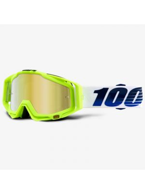 GOGGLE RACECRAFT GP21 MICA ORO