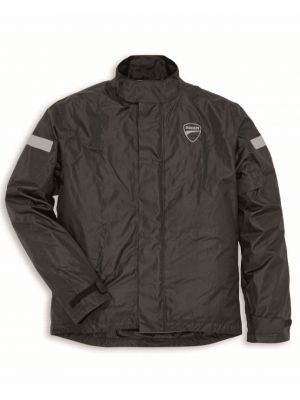 CHAMARRA DUCATI IMPERMEABLE NEGRA