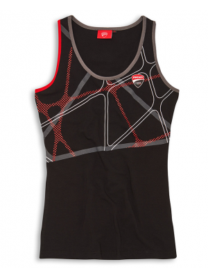 TANK TOP DUCATI DC POWER PARA DAMA