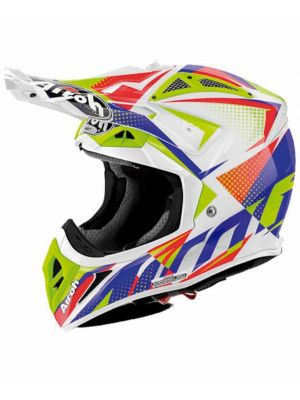CASCO AIROH AVIATOR 2.2 FLASH BLANCO