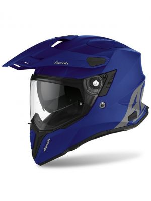 CASCO AIROH COMMANDER AZUL MATE
