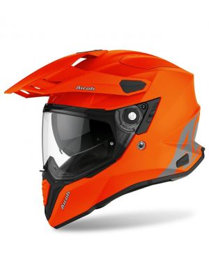 CASCO AIROH COMMANDER NARANJA/MATE