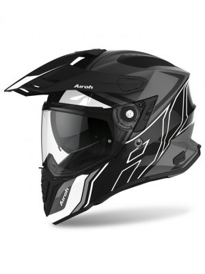 CASCO AIROH COMMANDER NEGRO/BRILLANTE/MATE