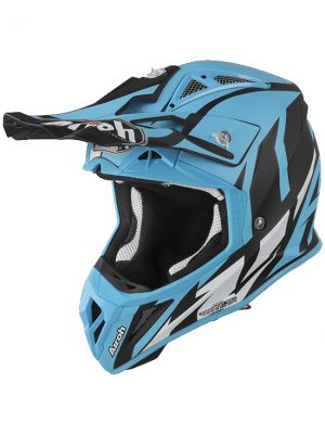 CASCO AIROH AVIATOR 2.3 GREAT AZUL MATE