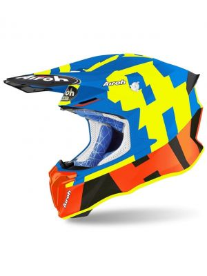 CASCO AIROH TWIST 2.0 FRAME AZUL/MATE