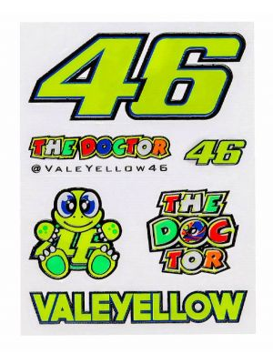 CALCOMANIAS VR 46 CHICAS B