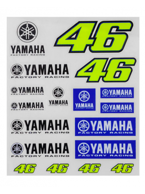 CALCOMANIAS VR46 DUAL YAMAHA