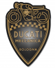 ESCUDO DE METAL DUCATI SHIELD