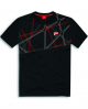 PLAYERA DUCATI GRAPHIC NET NEGRA